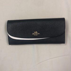 Dark Navy Coach Wallet